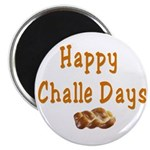 JEWISH HAPPY CHALLE HOLIDAYS Magnet