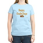 JEWISH HAPPY CHALLE HOLIDAYS Women's Light T-Shirt