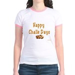 JEWISH HAPPY CHALLE HOLIDAYS Jr. Ringer T-Shirt