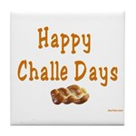 JEWISH HAPPY CHALLE HOLIDAYS Tile Coaster