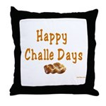 JEWISH HAPPY CHALLE HOLIDAYS Throw Pillow