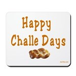 JEWISH HAPPY CHALLE HOLIDAYS Mousepad