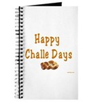 JEWISH HAPPY CHALLE HOLIDAYS Journal