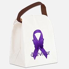 Unique Thyroid cancer Canvas Lunch Bag