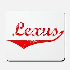 Lexus Vintage (Red) Mousepad