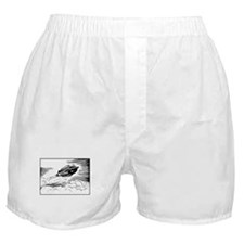 Retro Spaceflight Boxer Shorts