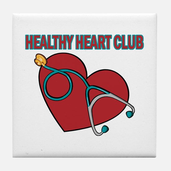 Cardiac Nurses & Patients Tile Coaster