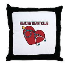 Cardiac Nurses & Patients Throw Pillow