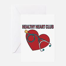 Cardiac Nurses & Patients Greeting Card