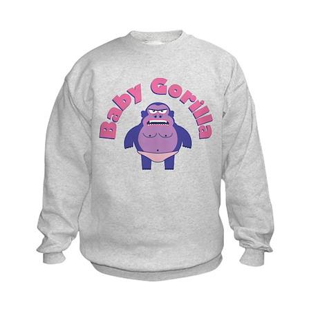 Baby Gorilla Kids Sweatshirt