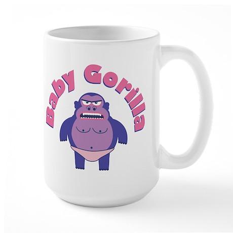 Baby Gorilla Large Mug