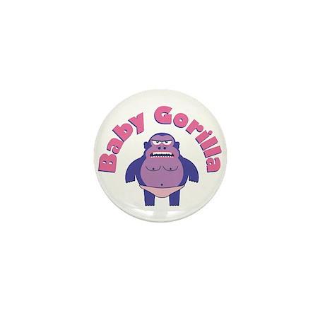 Baby Gorilla Mini Button