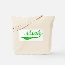 Miah Vintage (Green) Tote Bag