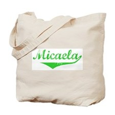 Micaela Vintage (Green) Tote Bag