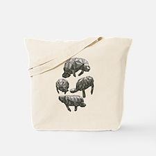 Cute Grazing cows Tote Bag