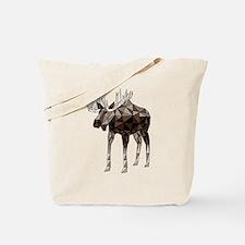 Cute Moose canada Tote Bag