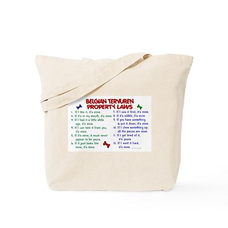 Belgian Tervuren Property Laws 2 Tote Bag