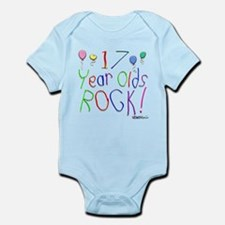17 Year Olds Rock ! Infant Bodysuit