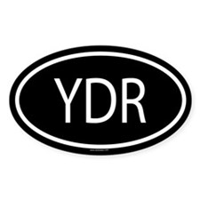 YDR Oval Decal