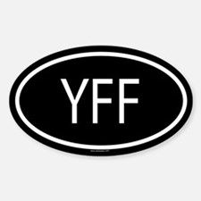 YFF Oval Decal