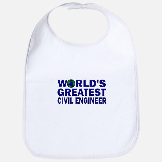 World's Greatest Civil Engine Bib