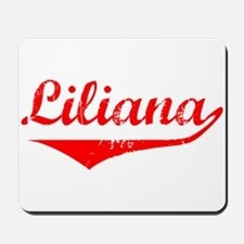 Liliana Vintage (Red) Mousepad