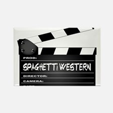 Spaghetti Western Movies Clapperboard Magnets