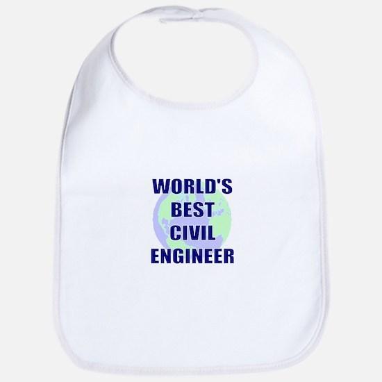 World's Best Civil Engineer Bib