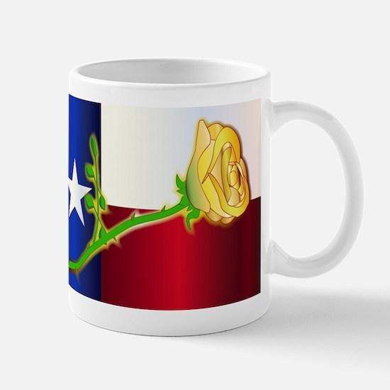 Texas Yellow Rose Mugs