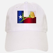 Texas Yellow Rose Baseball Baseball Cap