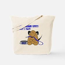 Out Damn Spot Tote Bag