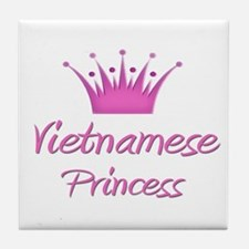 Vietnamese Princess Tile Coaster