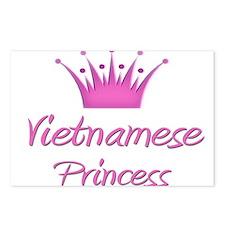 Vietnamese Princess Postcards (Package of 8)