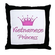 Vietnamese Princess Throw Pillow