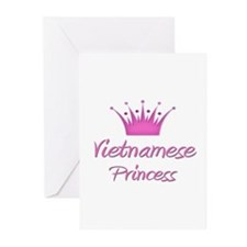 Vietnamese Princess Greeting Cards (Pk of 10)
