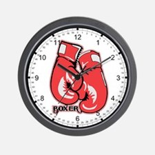 Boxing Gloves Wall Clock