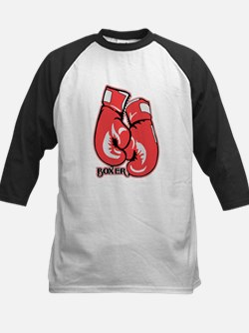 Boxing Gloves Kids Baseball Jersey