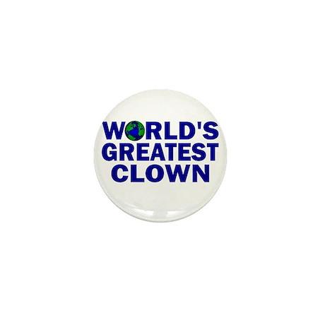 World's Greatest Clown Mini Button (10 pack)