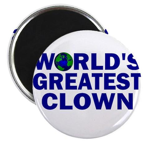 World's Greatest Clown Magnet