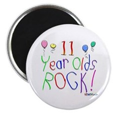 11 Year Olds Rock ! Magnet