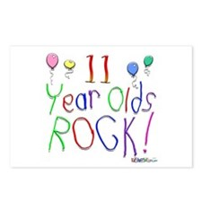 11 Year Olds Rock ! Postcards (Package of 8)