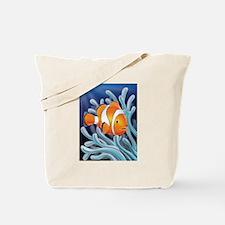 Clownfish & Anemone Tote Bag