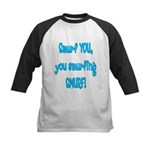 smurf you! Kids Baseball Jersey