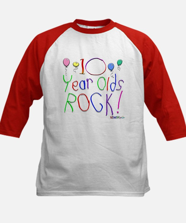 10 Year Olds Rock ! Tee