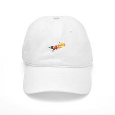Paint Splat Trumpet Baseball Cap