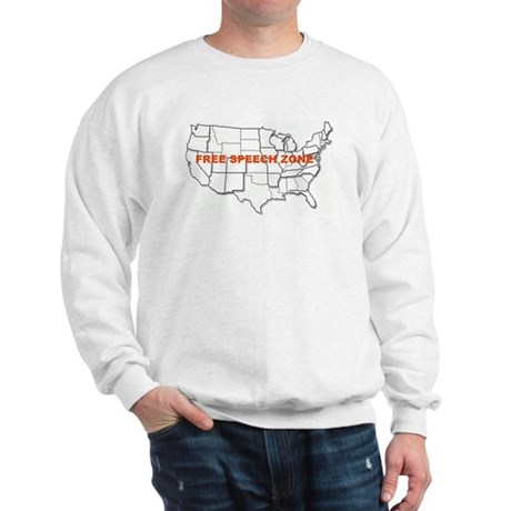 Free Speech Zone Sweatshirt