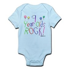 9 Year Olds Rock ! Onesie