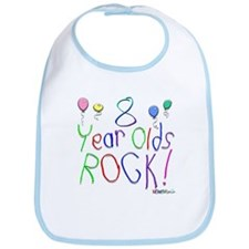 8 Year Olds Rock ! Bib