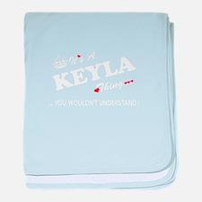 Cute Keyla baby blanket