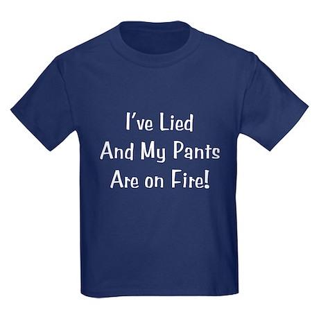 Pants on Fire Kids Dark T-Shirt